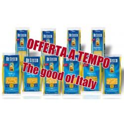 Pasta di semola di grano duro italiano De Cecco gr.500