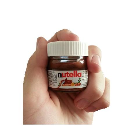 Nutella Ferrero 25 grammi Esportazione Bancali info@thegoodofitaly.com infoWhatsApp:+393662404293