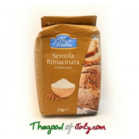 Farina di Semola di grano duro kg 1 consegna gratuita europa vienna graz linz bratislava