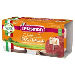 Omogeneizzato Plasmon 2 x 80 gr. Gusto Cavallo