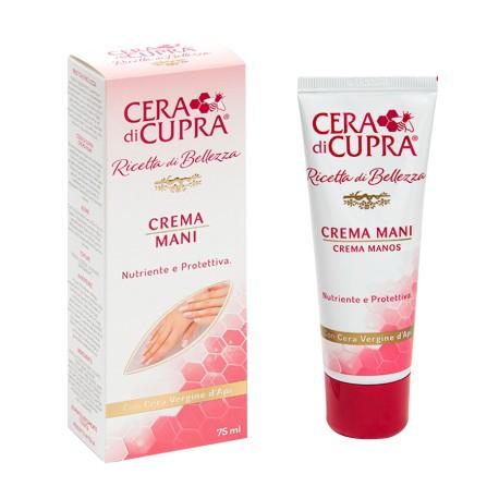 Crema mani Cera di Cupra con cera Vergine d'Api 75 ml